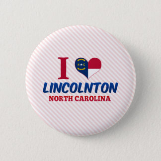 Lincolnton, North Carolina 2 Inch Round Button