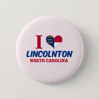 Lincolnton, North Carolina 2 Inch Round Button
