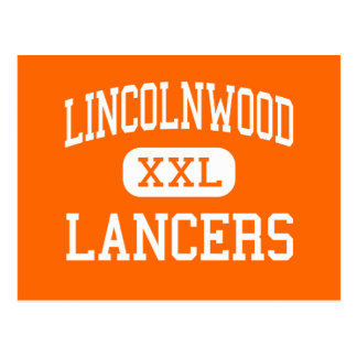 Lincolnwood - Lancers - Senior - Raymond Illinois Postcard