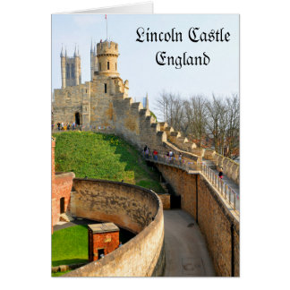 Lincon castle card