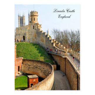 Lincon castle postcard