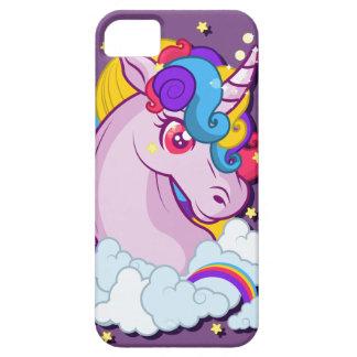 Linda capinha of cellular unicórnio iPhone 5 cover
