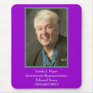 Linda, Linda J. PiperInvestment RepresentativeE... Mouse Pad