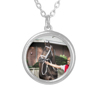 Linda Mimi by Congrats Silver Plated Necklace