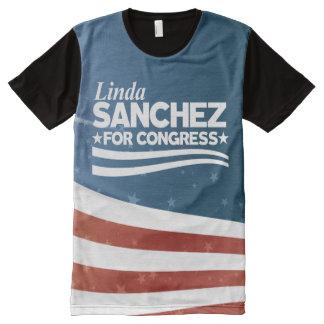 Linda Sanchez All-Over-Print T-Shirt