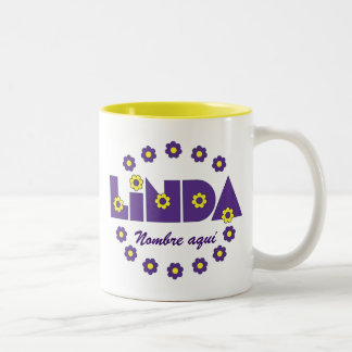 Linda Two-Tone Coffee Mug