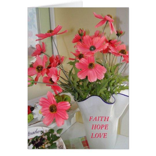 Linda's Bouquet, Inspirational Card