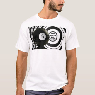 Linda's Lush Gear 8 Ball Pool T-shirt