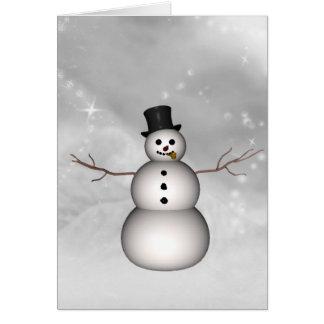 Linda's Snowman Card