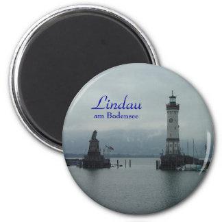 Lindau, Lindau,  am Bodensee 2 Inch Round Magnet