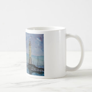 Lindau with Lion and Lighttower on Lake Constance Coffee Mug
