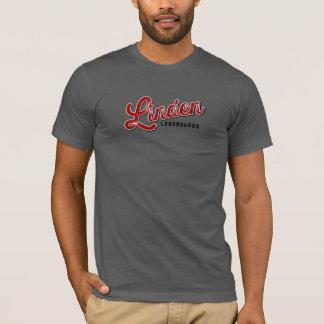 Linden Longboards Gray T T-Shirt