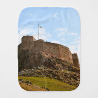 Lindisfarne Castle, Holy Island, England Burp Cloth