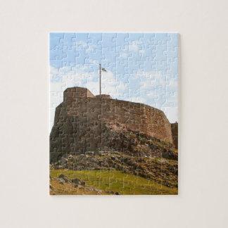 Lindisfarne Castle, Holy Island, England Jigsaw Puzzle