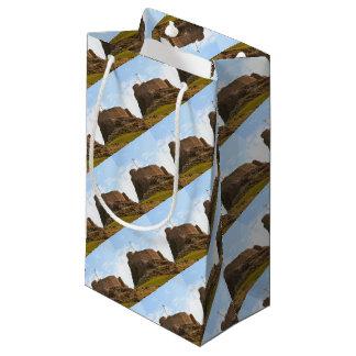 Lindisfarne Castle, Holy Island, England Small Gift Bag
