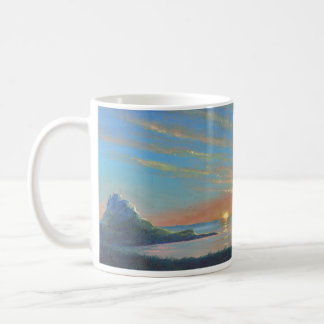 Lindisfarne Castle Sunrise Coffee Mug