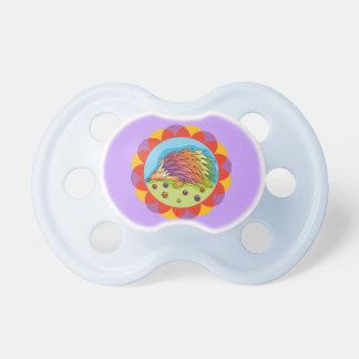 Lindo erizo multicolor baby pacifier