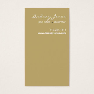 Lindsay Business Card template