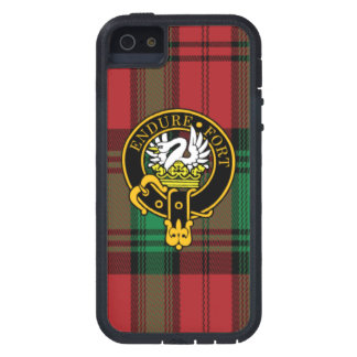 Lindsay Scottish Crest and Tartan iPhone 5/5S case