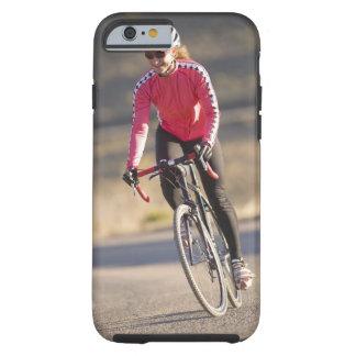 Lindsey Bishop road biking, Boulder, Colorado. Tough iPhone 6 Case