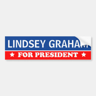 Lindsey Graham For President 2016 Bumper Sticker