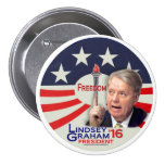 Lindsey Graham for President 2016 Pins