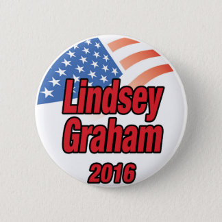 Lindsey Graham for president in 2016 2 Inch Round Button