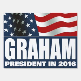 Lindsey Graham President in 2016 Sign