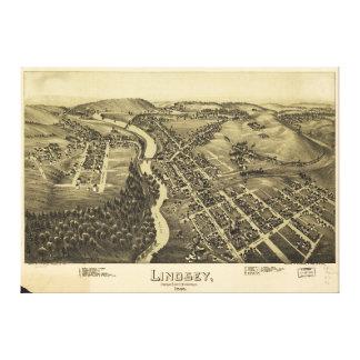 Lindsey (Punxsutawney) Pennsylvania 1895 Canvas Print