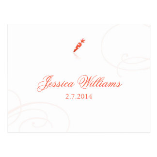 Lindsey's Place Cards - Vegetarian