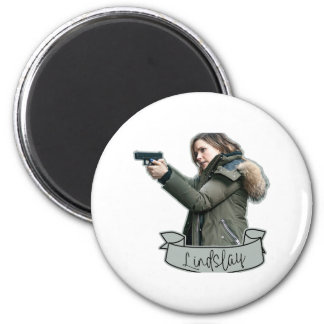 LindSLAY 2 Inch Round Magnet