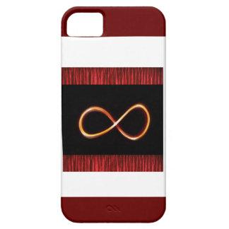 L'industrie graphique de symbole infini d'OR Coque iPhone 5