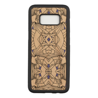 Line Artwork Carved Samsung Galaxy S8 Case