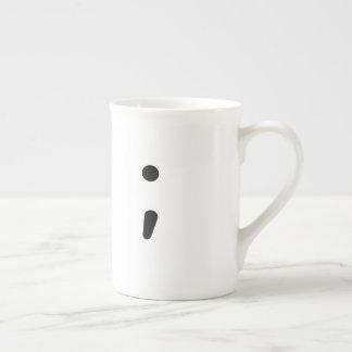 Line break - coffee mug