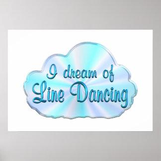 Line Dancing Dreamer Print