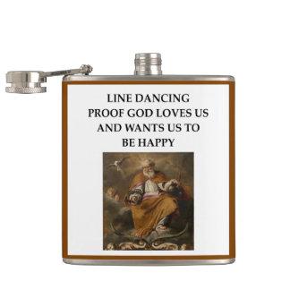 line dancing flask