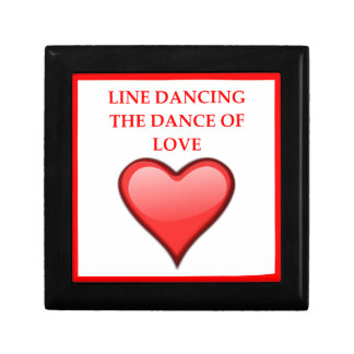 line dancing gift box