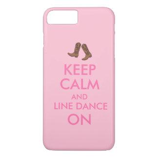 Line Dancing iphone 7 Case Dancer Cowboy Boots
