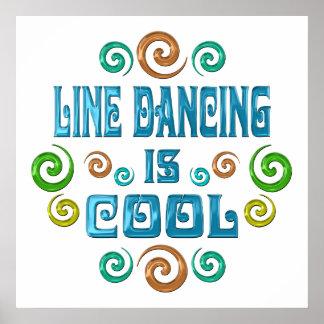 Line Dancing is Cool Print
