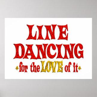 Line Dancing Love Print