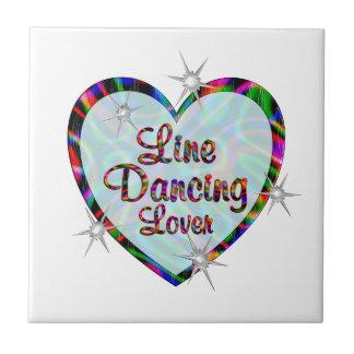 Line Dancing Lover Tile