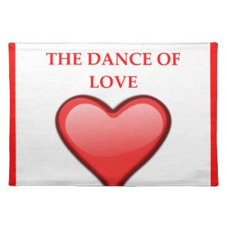 line dancing placemat