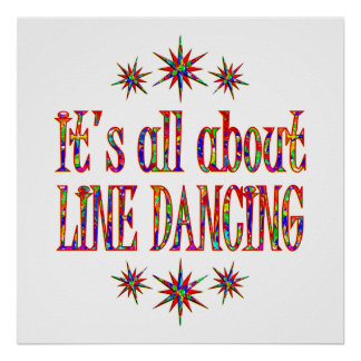 LINE DANCING POSTER