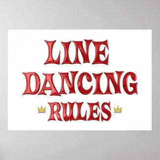 Line Dancing Rules Print