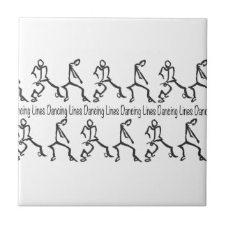 Line dancing tiles