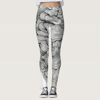 Line Drawn Leggings