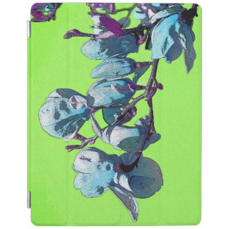 Line Green Magnolia iPad Cover