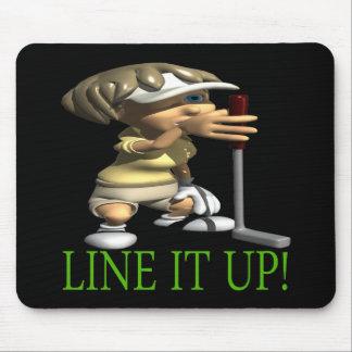Line It Up Mouse Pad