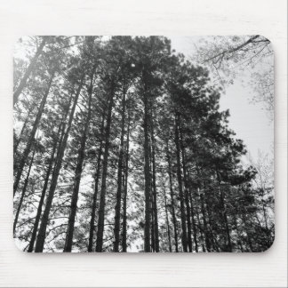 Line of Trees Mouse Pad