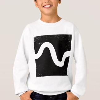 Line through Black Box Sweatshirt